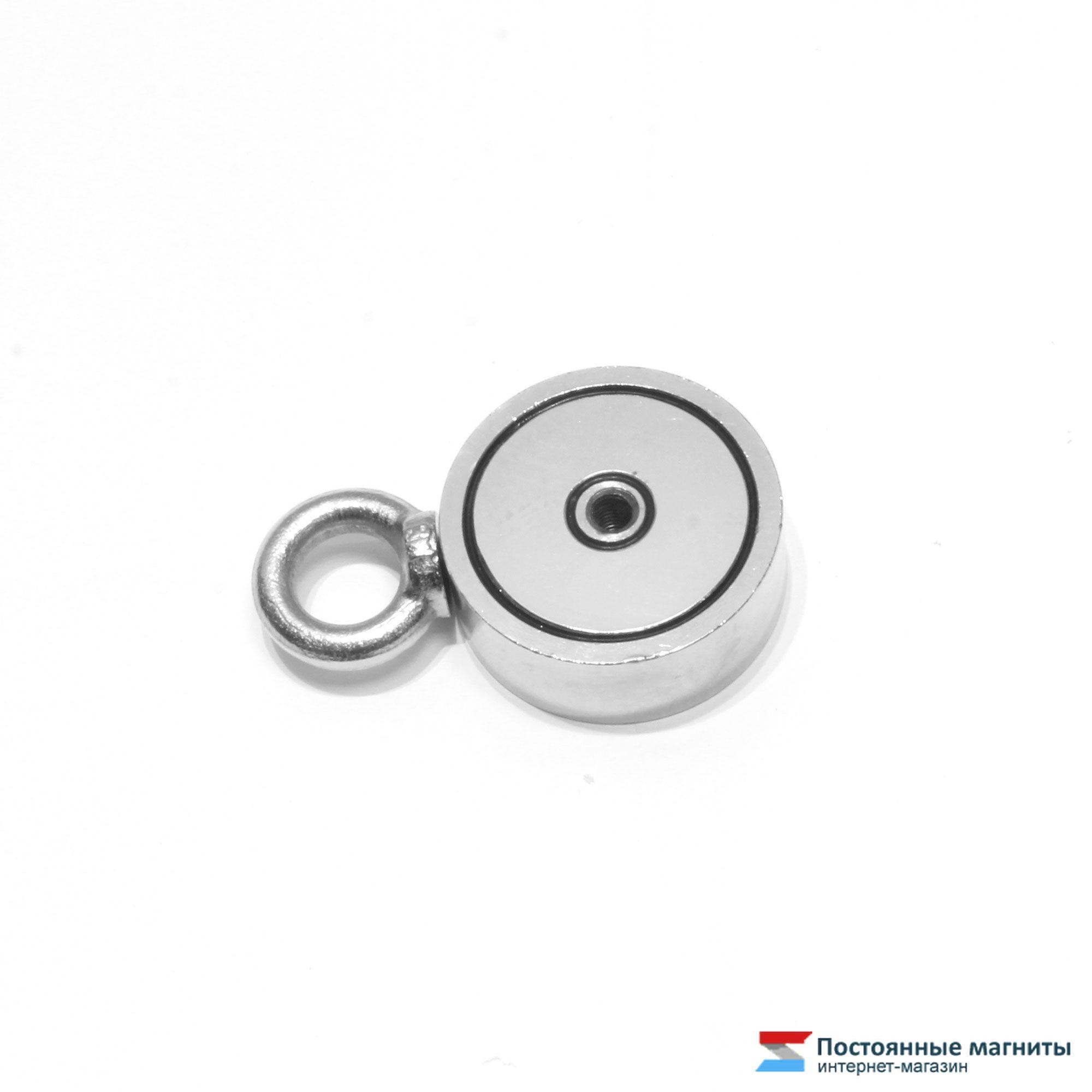Купить двухсторонний поисковый магнит f120x2 - цена, характе.