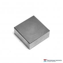 Неодимовый магнит прямоугольник 40х40х20 мм